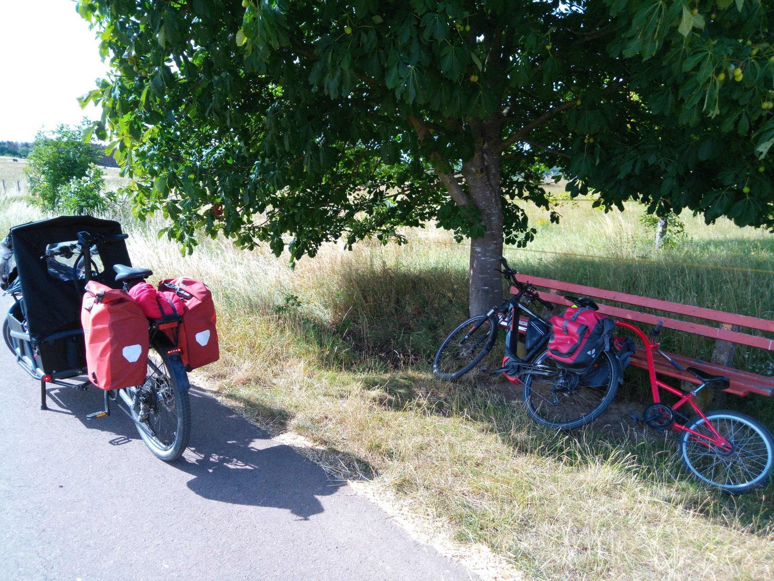Mit dem Fahrrad in den Urlaub